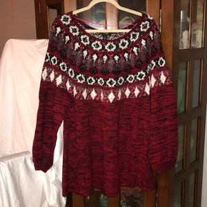 Super Cute Style & Co Woman Holiday Sweater